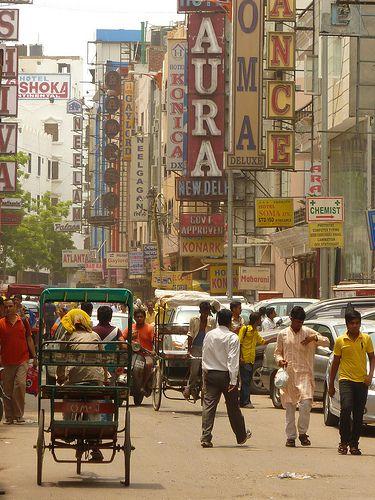 Street life in Delhi