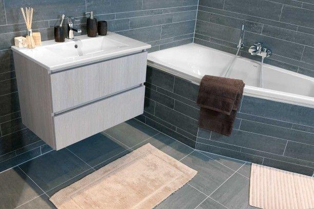19 best badkamer met bad images on pinterest bathroom ideas house and live - Badkamer deco model ...