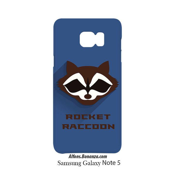 Rocket Raccon Superhero Samsung Galaxy Note 5 Hardshell