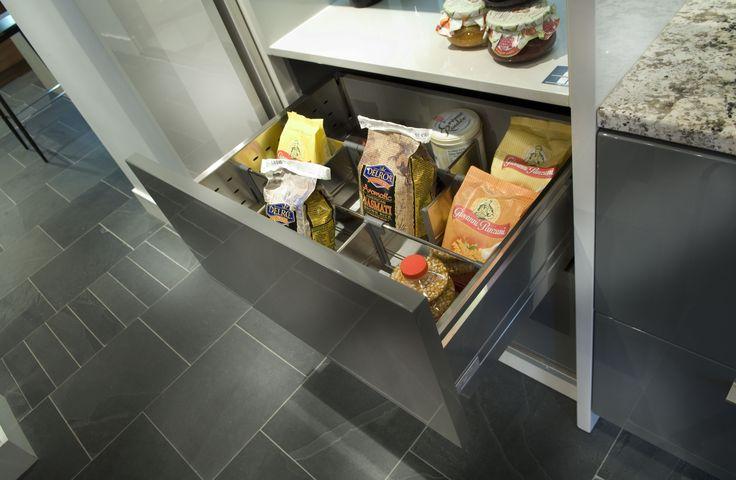 Armoires de cuisine Tendances Concept - Servo-drive (tiroir électrique)