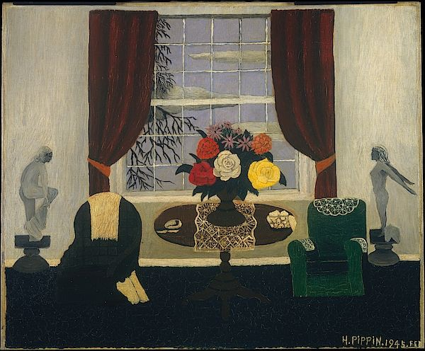 Victorian Interior By Horace Pippin Horace Pippin Art Painting