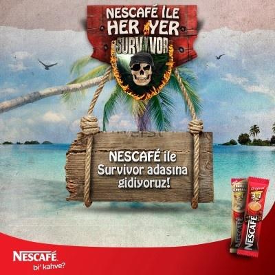 Nescafe 3ü1 Arada - Nescafe ile Her Yer Survivor Yarışması  http://www.kampanya-tv.com/2013/04/nescafe-3u1-arada-nescafe-ile-her-yer.html
