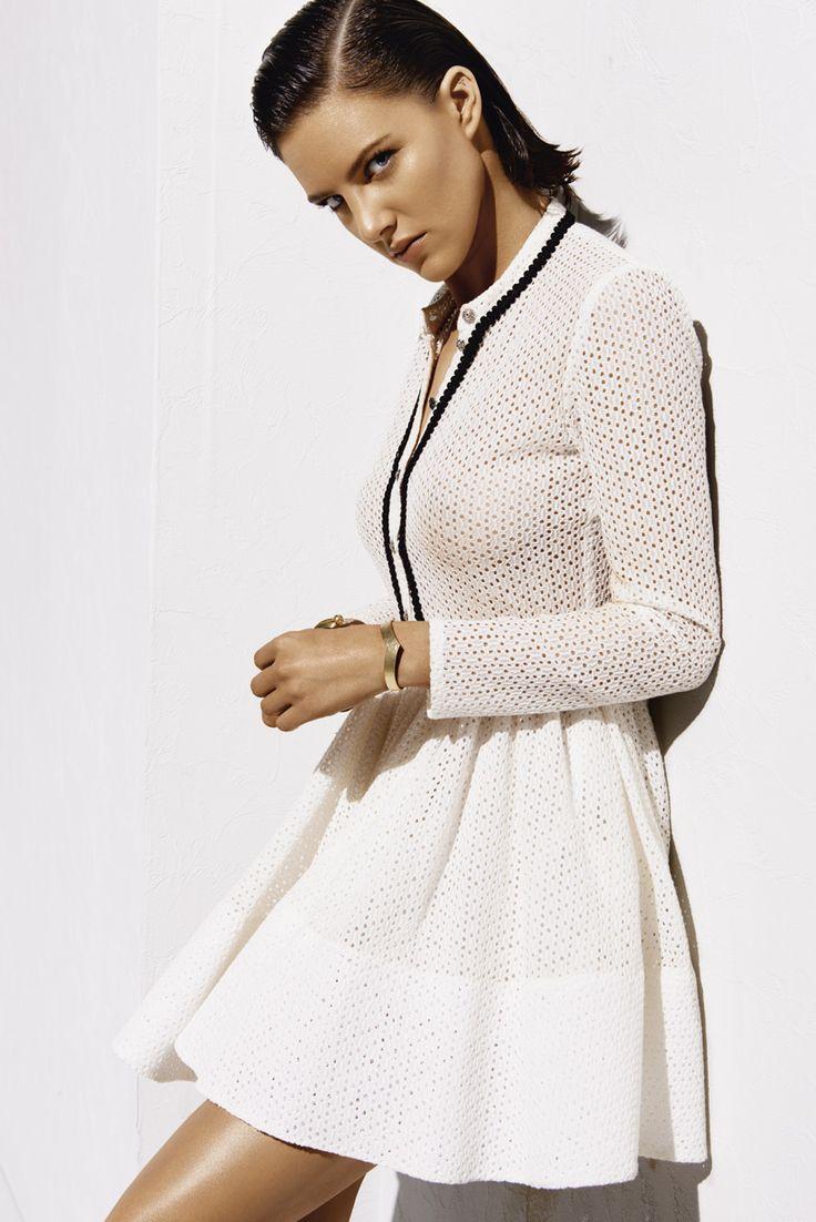 RAYANE Dress NATTE Brass Cuff  www.maje.com: