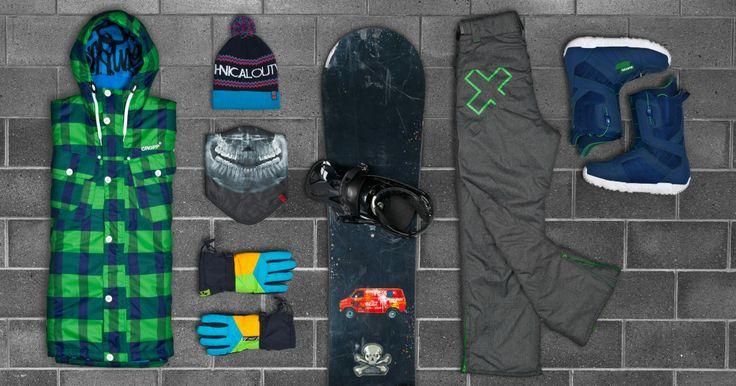 Snowboard collection #AW13 ! #cropp #menswear