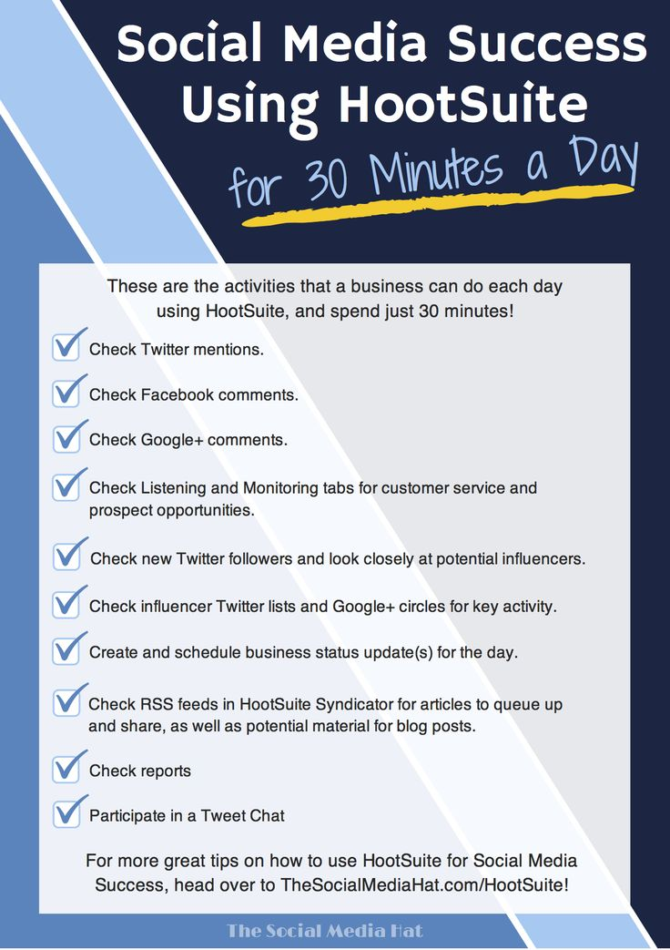 Social Media Success Using HootSuite for just 30 Minutes a Day! | #SocialMedia #Hootsuite #Business