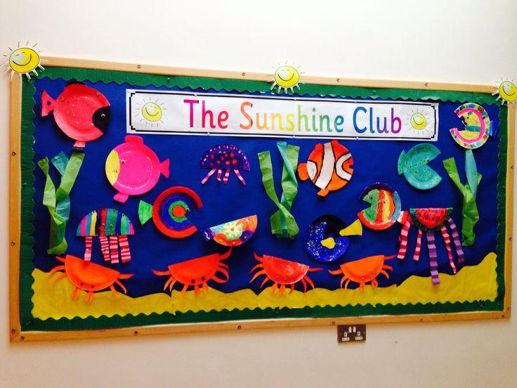Classroom Wall Decoration For Preschool ~ Amazing under the sea display pinterest
