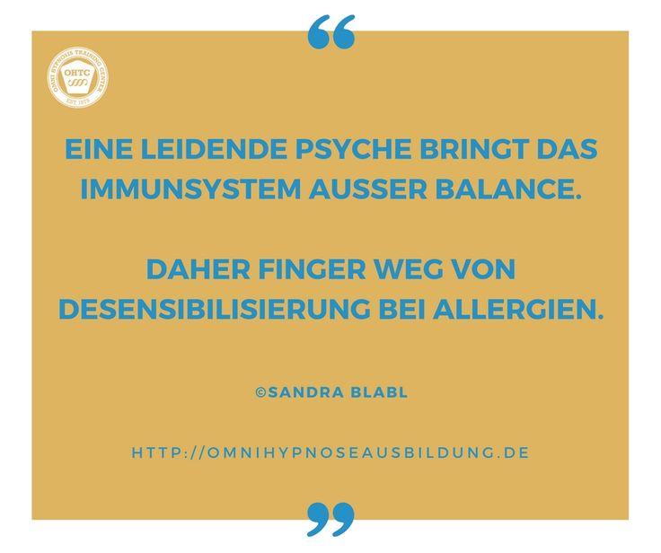 Darum bin ich gegen Desensibilisierung bei Allergien: http://omnihypnoseausbildung.de/finger-weg-von-desensibilisierung-bei-allergien/