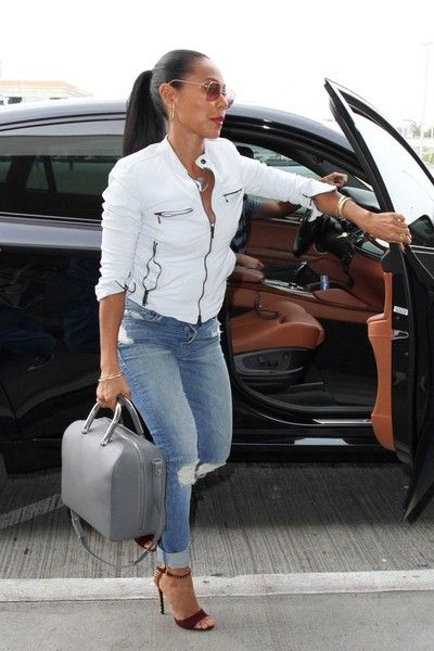 Jada Pinkett Smith Photos: Jada Pinkett Smith Arrives at LAX