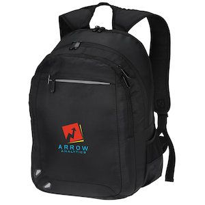 Get through security quick with these custom laptop backpacks!