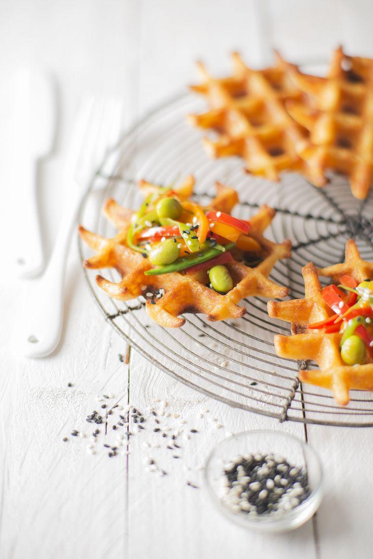 Découvrez la recette des gaufres végétariennes