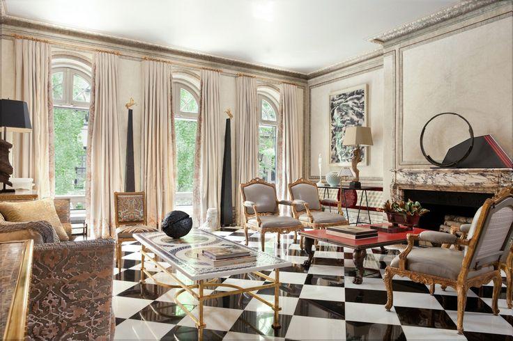 Opulent UES Townhouse of Designer Juan Pablo Molyneux Sells for Less Than Half Its Original Ask | 6sqft