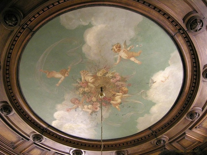 65 Best Images About Painted Ceilings On Pinterest
