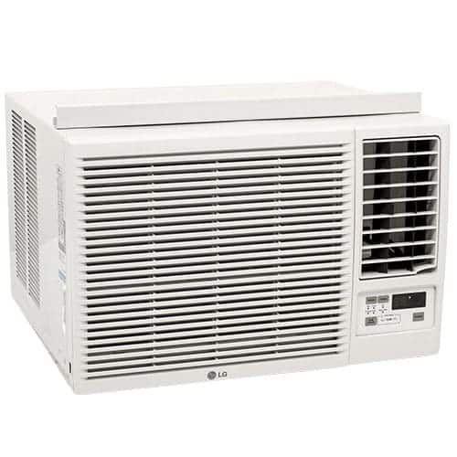 LG LW1816ER 18000 BTU 230V Window Air Conditioner with Three Fan Speeds Remote Control