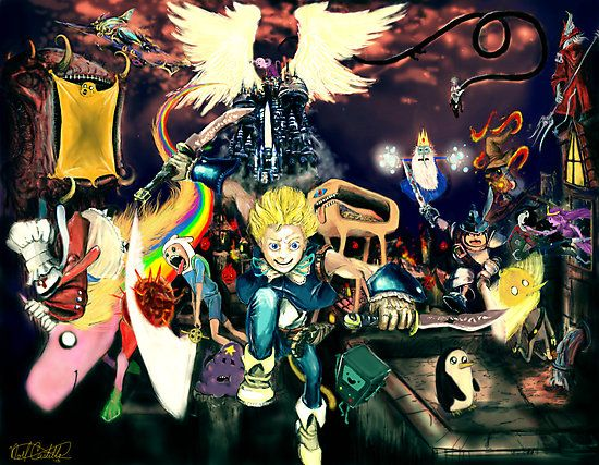Final Fantasy Adventure Time!