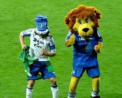 Image result for david luiz club mascot