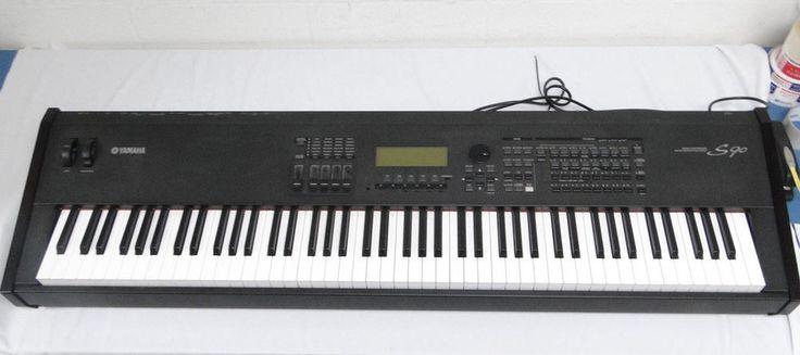 Yamaha S90 Keyboard Piano Synthesizer Full-Size 88 Key LCD Display Black Effects #Yamaha #Keyboard #Synthesizer #Piano #Full #Size #Full-Sized #88 #Key #LCD #Display #Black #Effects #Effect  1210