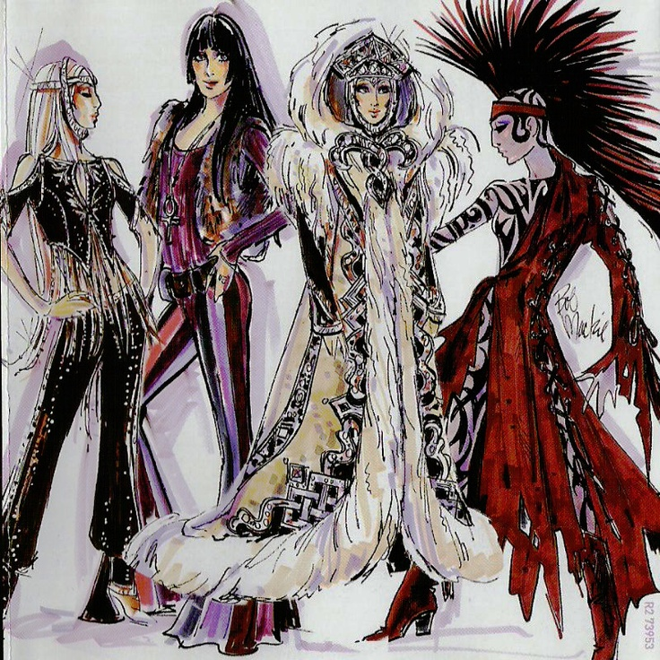 Cher concert costumes