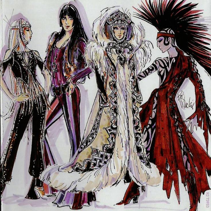 Cher concert costumes