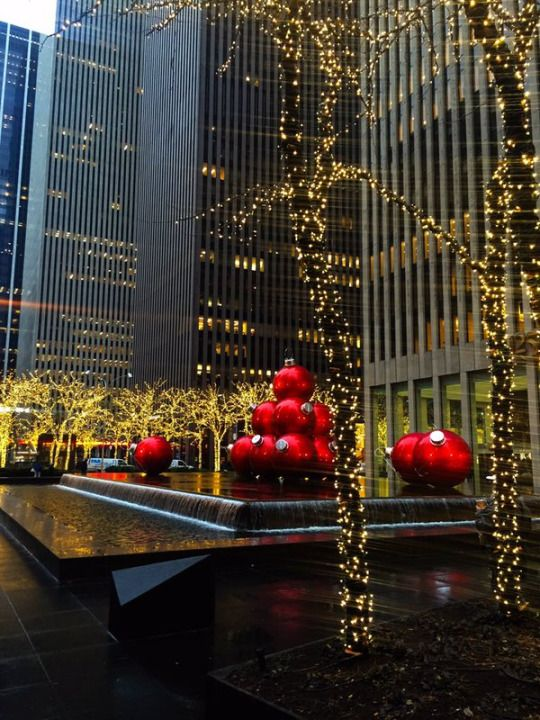 235 best Christmas in New York images on Pinterest  Christmas