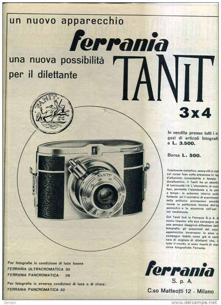 Macchina fotografica Ferrania