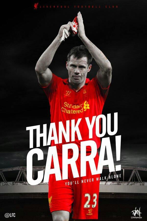 Thank You #Carra #YNWA :)