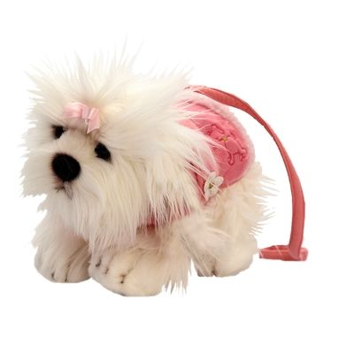 Maltese Glamapup Plush Toy