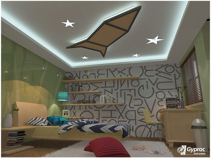 innovative kids room interior design ideas | 18 best images about Adorable Kids Room Ceiling Designs on ...