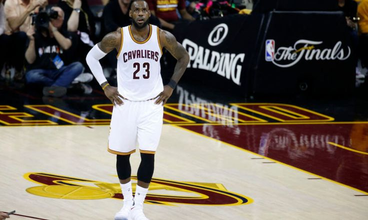 McElroy | LeBron James isn't leaving the Cavaliers — yet = LeBron James left the Cleveland Cavaliers high and dry for South Beach to form a super team with Dwayne Wade and Chris Bosh seven years ago. Now that the Cavaliers are in danger of being swept in the NBA Finals, that same feeling of.....