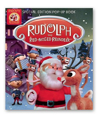 Take a look at this Rudolph the Red-Nosed Reindeer Pop-Up Book on zulily today!