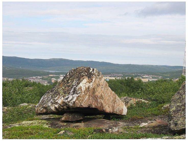 Сад камней Горелой горы