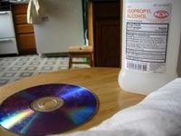 How to Clean a DVD - I get DVDs from the library a lot, so this comes in handy.