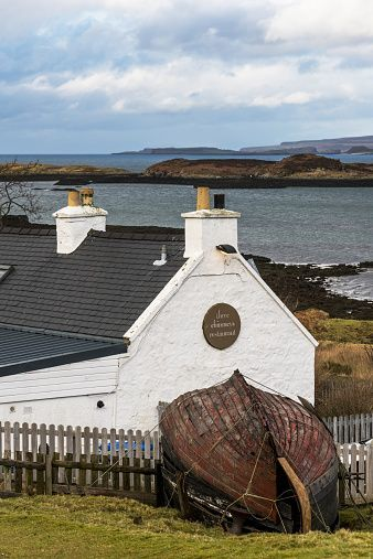 The Three Chimneys Restaurant, Colbost, Isle of Skye, Scotland.