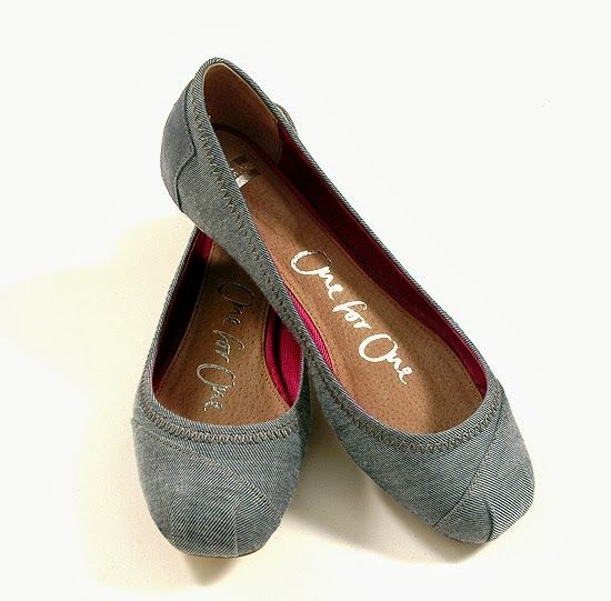 Toms ballet flats - tan, brown, or grey, size 9.5