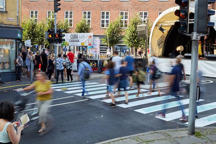 Crosswalk in Kolding, Denmark 2016 #crosswalk #Kolding #Designweekkolding #Designweek #Citymarketing #Marketing