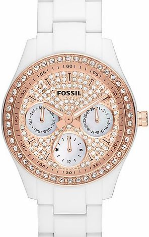 Women's Fossil Watch ES3096  Rose Gold GLAM #fossil #fossilwatch #rosegold