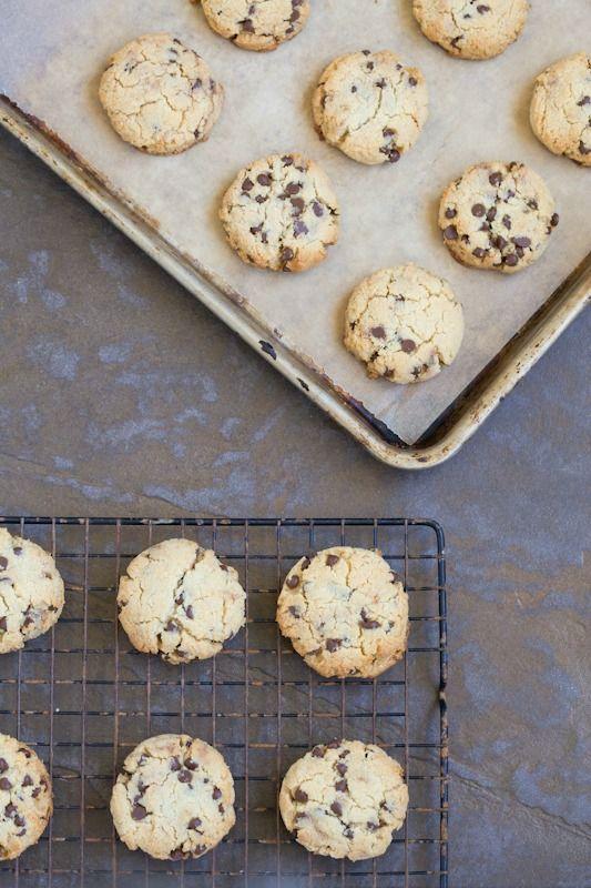 Chocolate Chip Cookies via DeliciouslyOrganic.net #paleo #grainfree