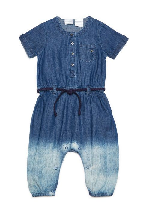 10 Best Kardashian Kids Clothing of 2016-Kids Clothes From the Kardashian Collection-Kardashian Kids Girls Denim Jumpsuit-$33, babiesrus.com. Skip the old-school farmer style overalls and reach for this denim jumpsuit instead. Your kid will thank you, of course, and she'll win rave reviews for her fashionable look. The hippy look of the '70s is back in style right now, so this tie-dyed romper feels very of-the-moment, with a navy suede rope belt that makes it feel glamorous and chic.Visit…