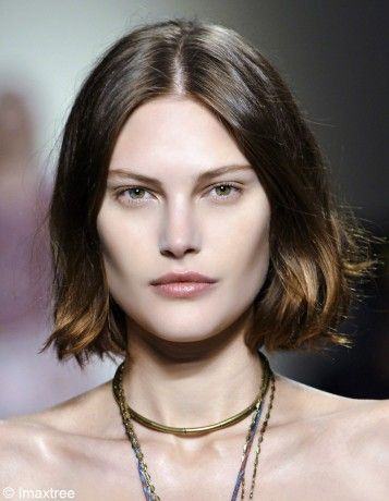 Catherine Mcneil, brown bob hair