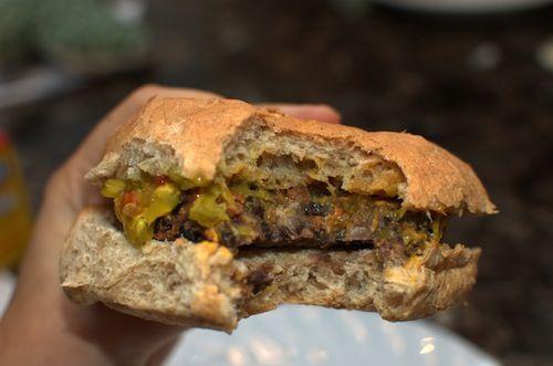 Quick & Easy Black Bean Burgers (6 ingredients! 15 minutes!)