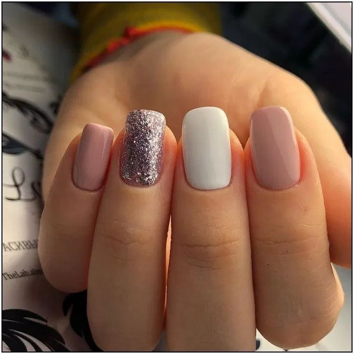 Nail Design Fall Nails In 2020 Trendy Nails Short Acrylic Nails Nail Colors