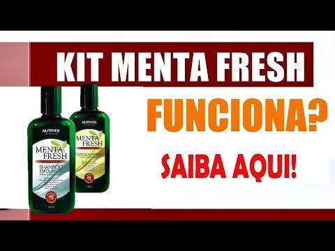 Kit Menta Fresh Shampoo e Condicionador funciona!!