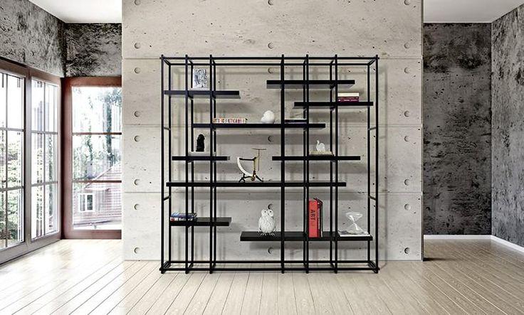 LOOP | Compositions - Bookshelves | alexopoulos & co | #innovation #bookcase #furniture #design #alexopoulos_co #madeingreece