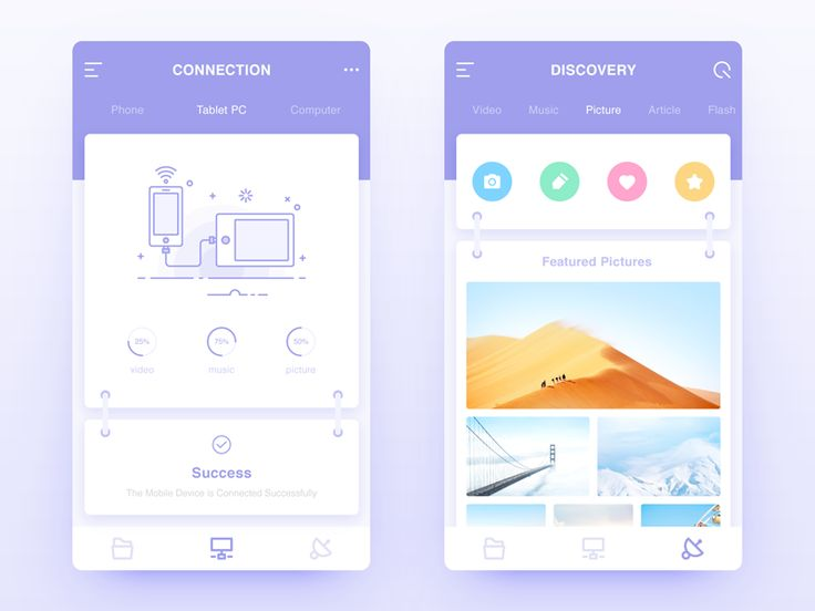 Connection & Discovery by bill_ux #Design Popular #Dribbble #shots