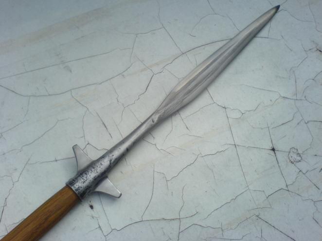 For Sale: Winged Spear Head -- myArmoury.com