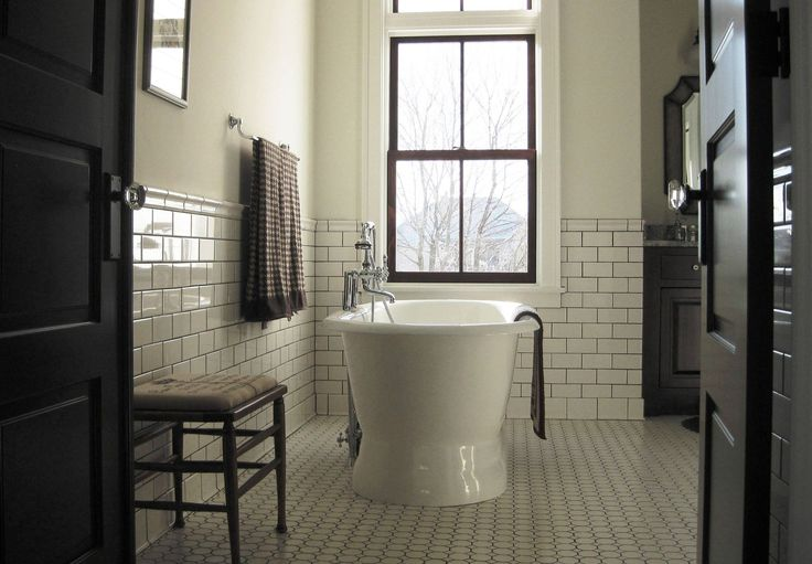 Old stone farmhouse master bath traditional bathroom images by in home designs wayfair - Change your old bathroom to traditional bathrooms ...
