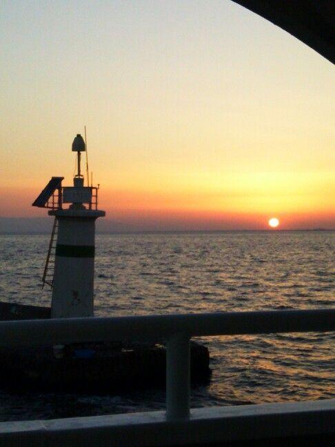 Sunset in Symrna. (İzmir - Turkey)
