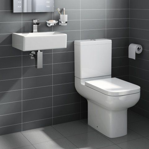 Short Projection 600mm Toilet Cloakroom Toilet   Rita Cloakroom Wall Hung Basin  Set  medium. 1000  ideas about Cloakroom Toilets on Pinterest   Downstairs loo