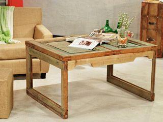 Manualidades y artesan as mesa con puerta utilisima for Utilisima decoracion