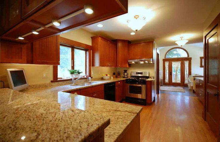 Gambar Dapur Tampak Lebih Mewah Dengan Granit Dan Marmer Cantik » Gambar 528