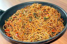 Asiatische Mie-Nudeln mit Gemüse, gebraten, ein beliebtes Rezept aus der Kategorie Braten. Bewertungen: 31. Durchschnitt: Ø 4,2.
